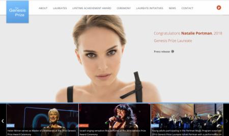 Natalie Portman Sides Against Israel