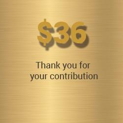 $36 donation