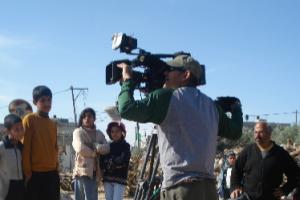 Al Jazeera camera operator cropped