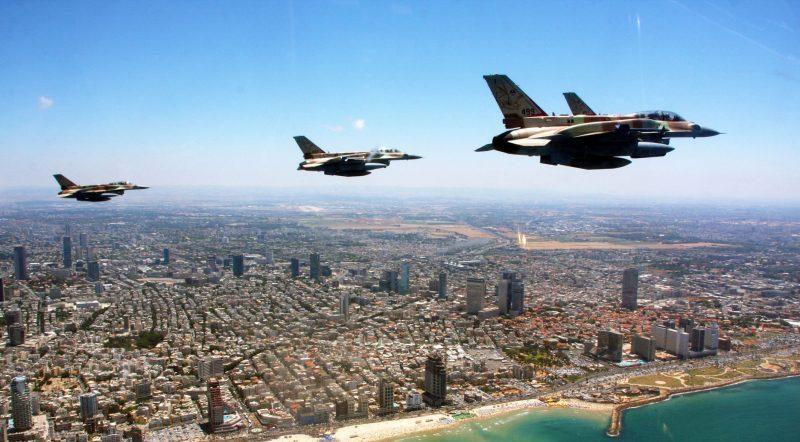 Israeli flyover