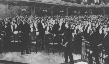 First Zionist Congress held this week 123 years ago